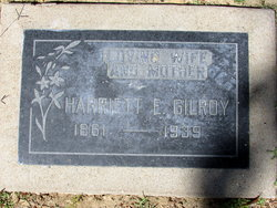 Harriet Elizabeth <i>Whitaker</i> Gilroy