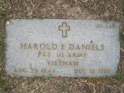 Pvt Harold Edward Daniels