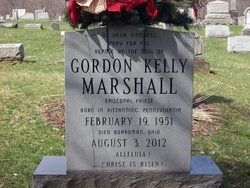 Rev Gordon Kelly Kelly Marshall