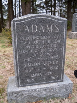 Arthur Low Bud Adams
