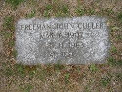 Freeman John Pete Culler