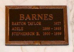 Adele <i>Taylor</i> Barnes