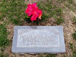 Emelia Meta <i>Jensen</i> Coleman