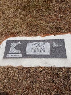Mary Ann Christine <i>Hanson</i> Clayton
