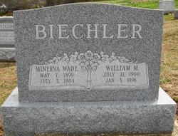 Minerva <i>Wade</i> Biechler