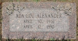 Ada Lou Alexander