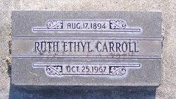 Ruth Ethyl <i>Peterson</i> Carroll