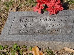 Alice Garrett