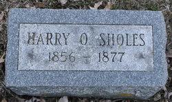 Harry O Sholes