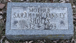 Sarah Elizabeth <i>McKinney</i> Sholes