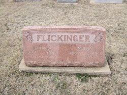 Maria Mary <i>Senner</i> Flickinger