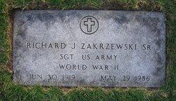 Richard J Zakrzewski, Sr