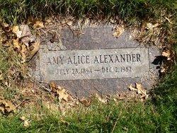 Amy Alice <i>Schau</i> Alexander