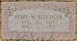 Henry Walter Alexander, Jr