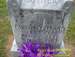 Evie Lavada 'Vada' <i>Copeland</i> Alexander