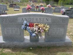 Ruth Rebecca <i>Johnson</i> Andersen