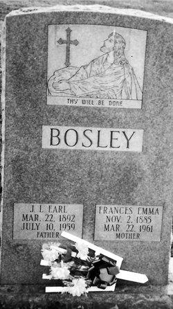 Joseph Lee Earl Bosley