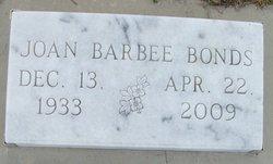 Joan <i>Barbee</i> Bonds