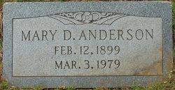 Mary Dorthey <i>Hvidberg</i> Anderson
