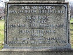 Anna Mary <i>Howard</i> Aldrich