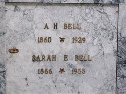 Sarah Elizabeth <i>Lewis</i> Bell