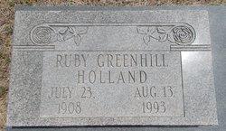 Ruby Lou <i>Greenhill</i> Holland