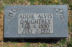 Addie <i>Alvis</i> Daughtrey
