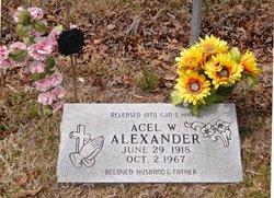 Acel Woodrow A.W. Alexander