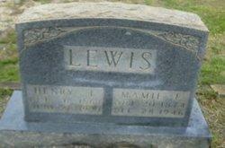 Mary Emelisa <i>Whitmire</i> Lewis