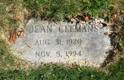 Catherine Jean <i>Little</i> Clemans