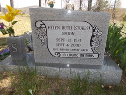 Helen Ruth <i>Stubbs</i> Spoon