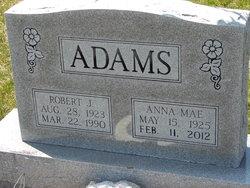 Anna Mae <i>Lukehart</i> Adams