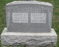 Sarah J. <i>Diller</i> Allison