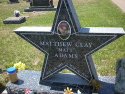 Matthew Clay Adams