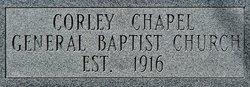 Corley Chapel Cemetery