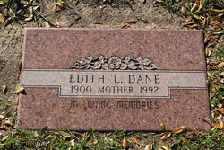 Edith Louise <i>Lincecum</i> Dane