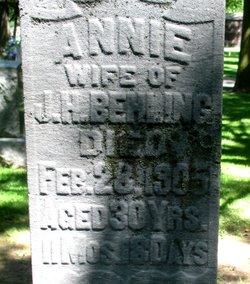 Anna Annie <i>Busch</i> Behling