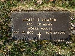 Leslie James Keaser