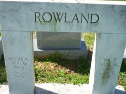 Bessie Alene <i>Bolerjack</i> Rowland