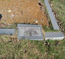 Ruth <i>Etheridge</i> Cornelius