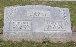 Florence F <i>Cleveland</i> Lang