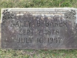 Sarah Emma <i>Burks</i> Baker