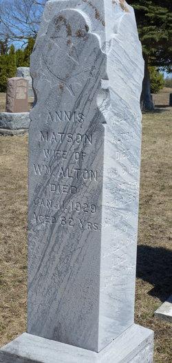 Annis <i>Matson</i> Alton