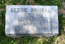 Bessie <i>Rombaut</i> Cole
