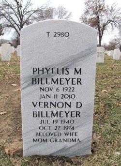 Vernon D Billmeyer