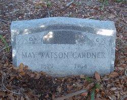 May Dismukes <i>Watson</i> Gardner