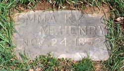 Emma K McHenry