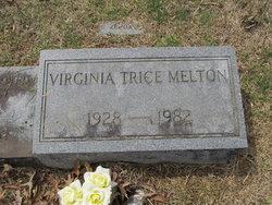 Virginia Allen Ginny <i>Trice</i> Melton