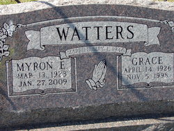 Mary Grace <i>Woodie</i> Watters
