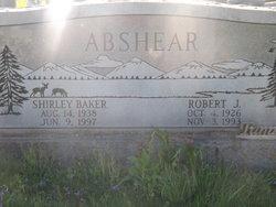 Shirley Ruth <i>Baker</i> Abshear